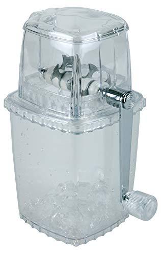 Buddy´s Bar-Tritaghiaccio,IceCrusher di Alta qualità,Trasparente, lamette in Acciaio Inossidabile, Robusto e Durevole per la Produzione di Ghiaccio tritato