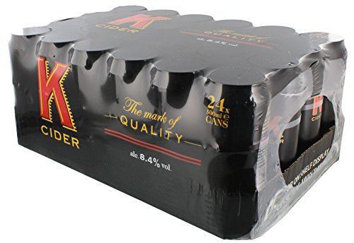 K Cider 24 x 500ml 8,4 Vol.