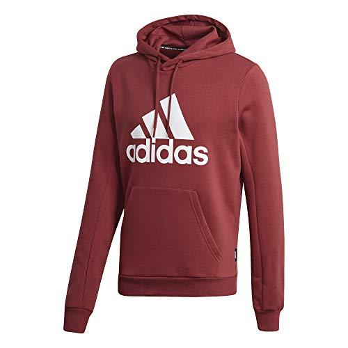 adidas Herren MH BOS PO FL Sweatshirt, Legacy red, XL