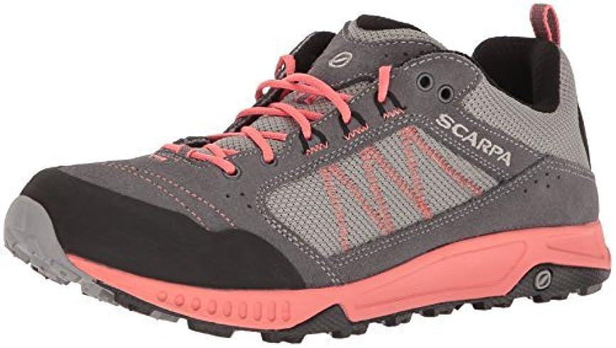 パーフェルビッド眼ログSCARPA Women's Rapid Wmn Hiking Shoe Grey/Coral 37 EU/6 M US [並行輸入品]