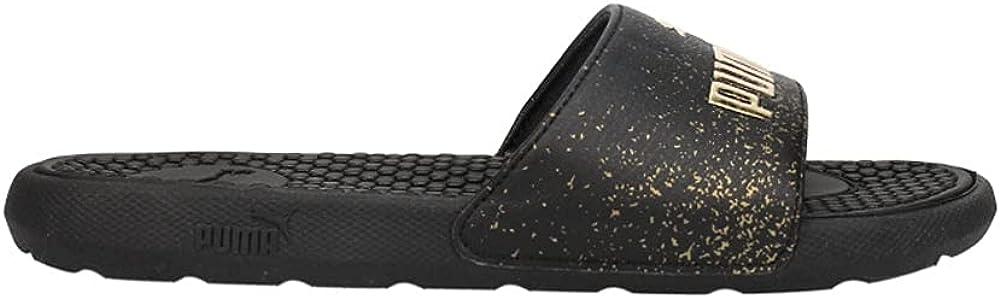 Puma Womens Cool Cat Metallic Fade Slide Sandals Sandals Casual - Black