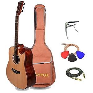 Kadence Slowhand Series Premium Jumbo Acoustic Guitar 10