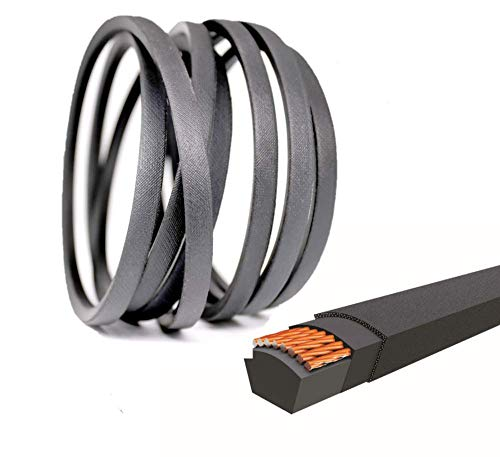 QIJIAPRO Garden Tiller Drive Belt 1/2' x 24.82' for 754-04123 954-04123 Bolens, MTD, Yard Machines, Husky, Troy-Bilt