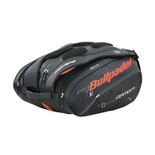 Bull padel Bolsa BULLPADEL BPP-21001 Vertex Big 005 Paletero, Adultos Unisex, Negro (Negro), Talla Única