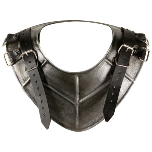 Armor Dark Drake Gorget - Medieval Neck Armor One Size Fit All - Antique Armour