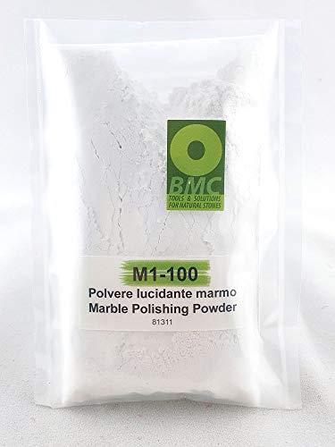 POLVERE LUCIDANTE PER MARMO M1-100 per rifare la lucidatura di piani cucina, pavimenti in marmo e travertino