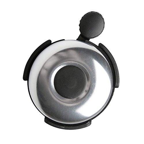 Fransande - Campanello per bicicletta, anello di clacson in alluminio, campana di Velo Classico, per adulti, uomini, donne, bambini, ragazzi, colore: argento