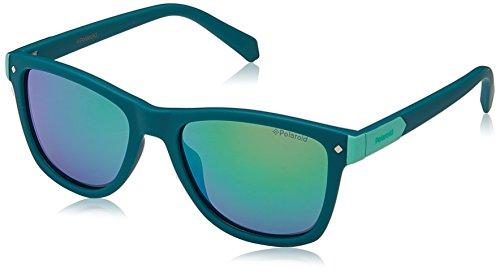 Polaroid PLD 8025/S 5Z 1ED 48 Gafas de sol, Verde (Green/Grey Grey), Unisex Niños