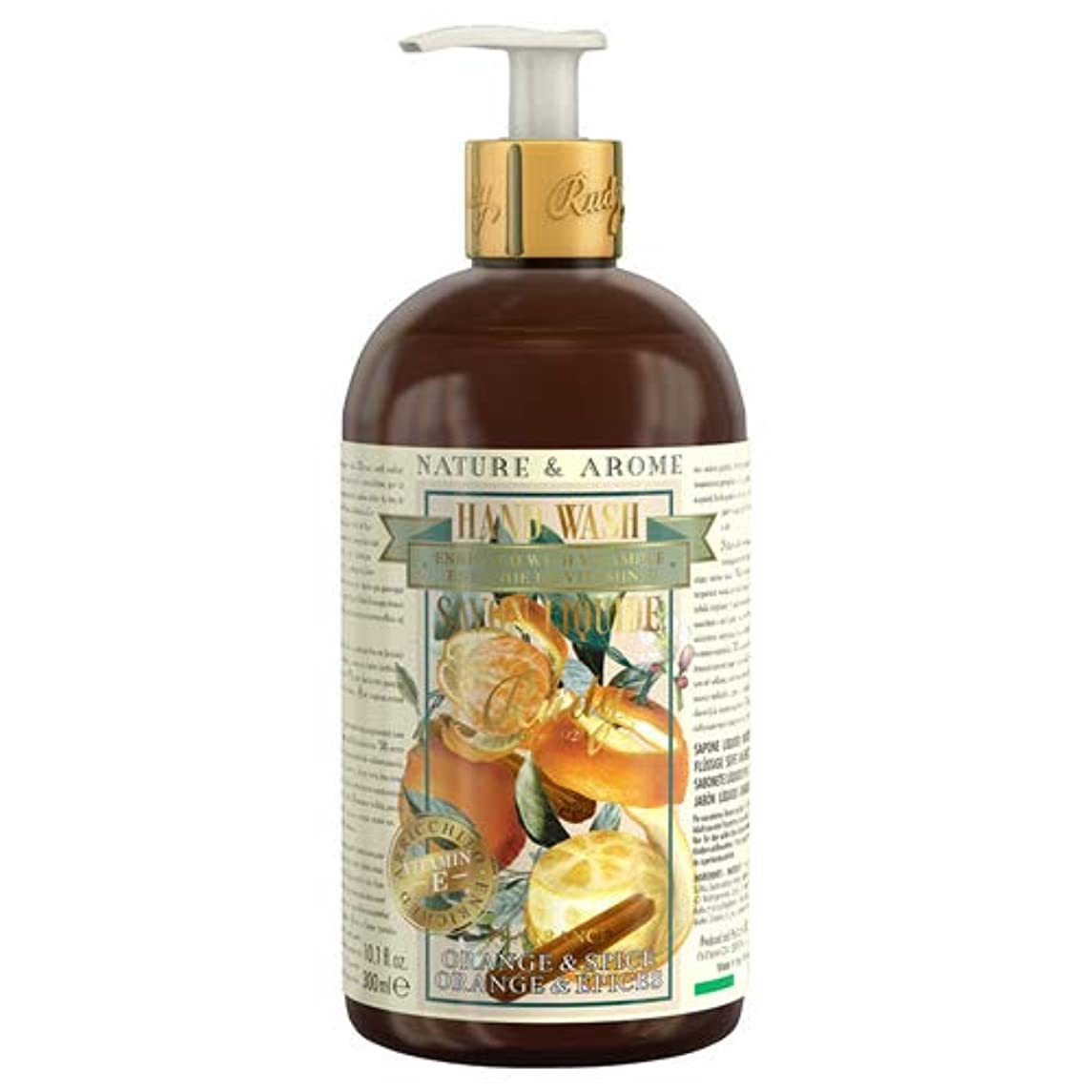 大惨事リズムブラシRUDY Nature&Arome Apothecary ネイチャーアロマ アポセカリー Hand Wash ハンドウォッシュ(ボディソープ) Orange & Spice オレンジ&スパイス