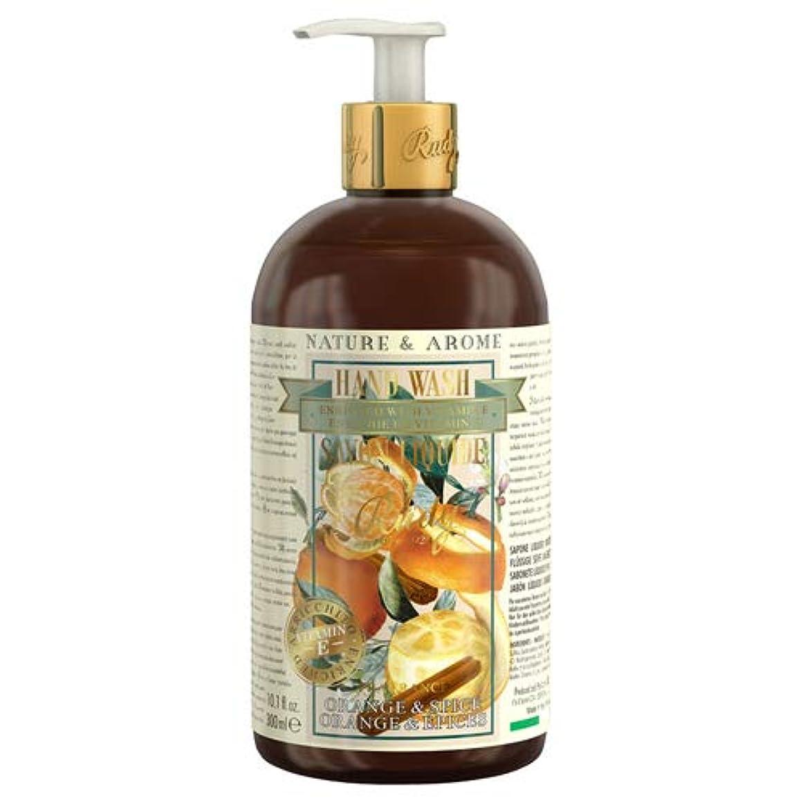 ディスコ戸惑う上に築きますRUDY Nature&Arome Apothecary ネイチャーアロマ アポセカリー Hand Wash ハンドウォッシュ(ボディソープ) Orange & Spice オレンジ&スパイス