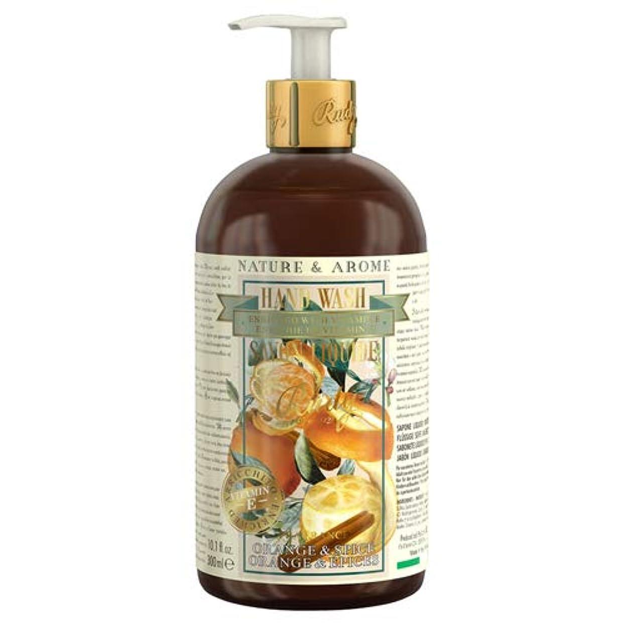 形容詞大型トラック下るRUDY Nature&Arome Apothecary ネイチャーアロマ アポセカリー Hand Wash ハンドウォッシュ(ボディソープ) Orange & Spice オレンジ&スパイス