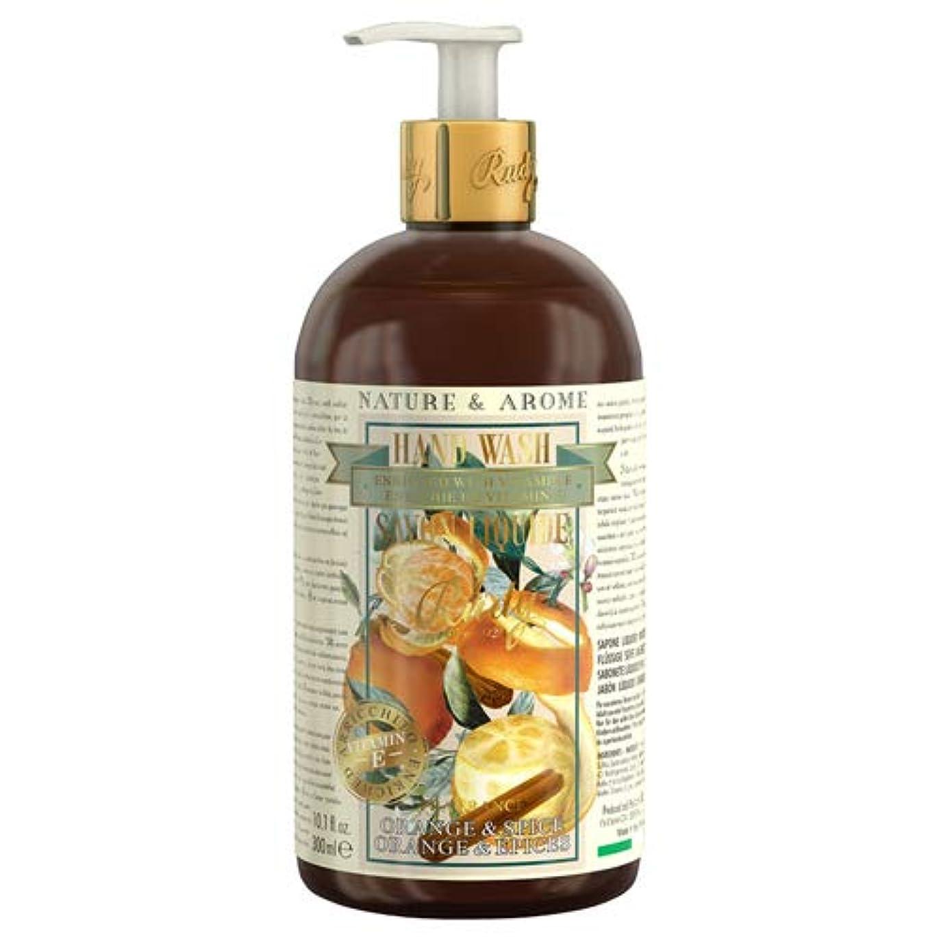 ブロンズ蒸発する曲げるRUDY Nature&Arome Apothecary ネイチャーアロマ アポセカリー Hand Wash ハンドウォッシュ(ボディソープ) Orange & Spice オレンジ&スパイス