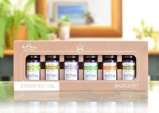 Essential Oils Kit - 100% Pure Certified Organic - Premium Therapeutic Grade - 6 Types
