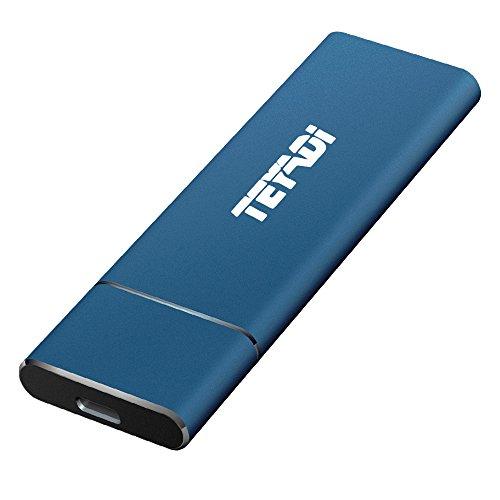 TEYADI Esterno SSD Portatile 512 GB, USB 3.1 Gen 2, M.2...