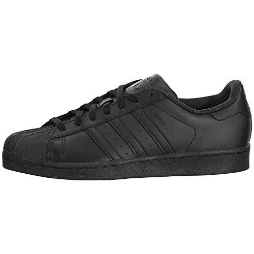 adidas Originals Men's Superstar Black/Black/Black 11