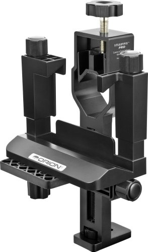 Orion 05306 SteadyPix Pro Universal Camera/Smartphone Mount (Black)