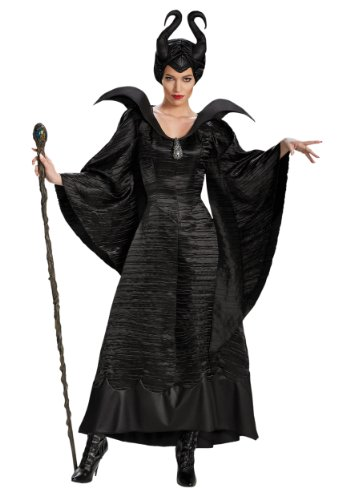 Disguise Adult Plus Size Deluxe Maleficent Christening Gown Costume X-Large Black