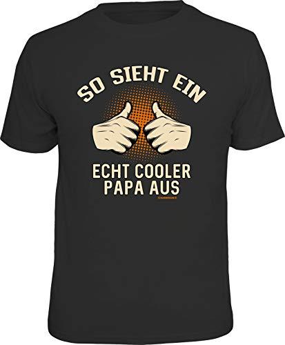 Das T-Shirt für den lässigen Vater: So Sieht EIN echt Cooler Papa aus XL, Nr.6329