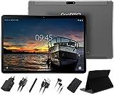 Tablet 10 Pulgadas Full HD Android 10.0 Tablet GOODTEL G3 Quad-Core, 4GB de RAM, 64GB de Memoria Interna, Escalable 128GB, Dual SIM Cámara Dual 8000mAh Batería Bluetooth WiFi GPS, Type-C Tablet Gris