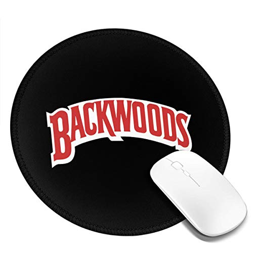 Backwoods Mouse Pads Non-Slip Gaming Office Mouse Pad Round Mouse Pad