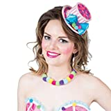 NET TOYS Adorable Petit Haut-de-Forme avec Ruban Lollipop - Joli Accessoire pour Costume Femme...