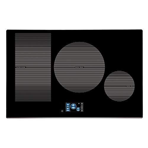 CATA IDF 8021 Pro BK Plaque à induction en acier inoxydable et verre Noir 1200 W 18 cm 2000 W