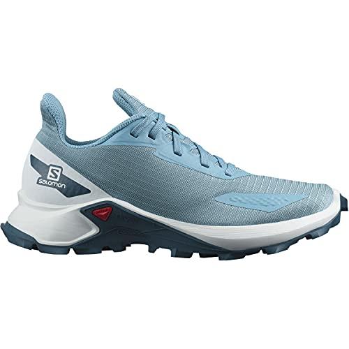 Salomon Alphacross Blast niños Zapatos de trail running, Azul (Delphinium Blue/White/Legion Blue), 39 EU