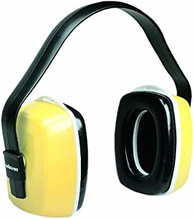Sellstrom S23400 Tonedown 200 Industrial/Construction Ear Muff, ANSI S3.19, NRR 26, Yellow