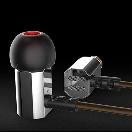 KZ-ED9 In-Ohr-Kopfhörer HiFi Stereo Headset Sportliche Kopfhörer mit Mikrofon für Joggen