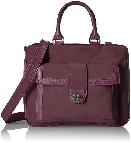 Buxton Damen Umhänge-Handtasche, aubergine, Einheitsgröße