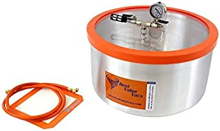 7 Gallon Vacuum & Degassing Chamber (Assembled in USA, Contains Domestic Components)
