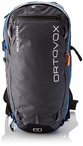 ORTOVOX Herren Ascent 30 inklusive Avabag Rucksack, Black Anthracite, 57 cm