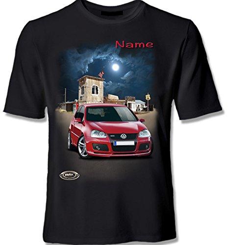 youtex Golf 5 MK 5 GTI HIGH Class T Shirt (Kissen, 38 cm x 38 cm)