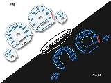 LETRONIX Plasma Tacho Tachoscheiben für Auto Golf 3 Vento 20-220Km/h 7000U/Min