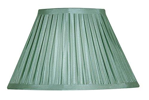 Oaks Lighting - Paralume in tessuto plissettato, stile funghetto, 13 cm Verde salvia