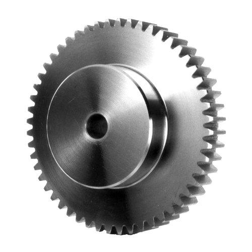 Thomafluid Stirnzahnrad aus Messing (gefräst) - Modul 0,3-1,0, Modul: 0,7, Naben-Länge (NL): 6 mm, Zähne: 21, 5 Stück