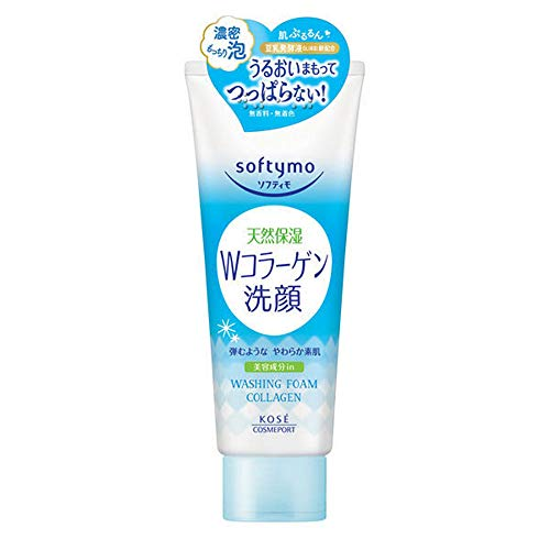 Kose Cosmeport Softymo Face Wash Collagen 190g