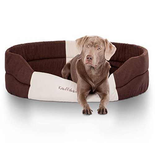 Knuffelwuff 13066 Schaumstoff Hundebett Mia - Größe M, 75 x 60 cm
