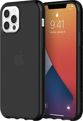 Griffin Technology Survivor Clear GIP-051-BLK - Carcasa Protectora para iPhone 12 y 12 Pro, Color Negro