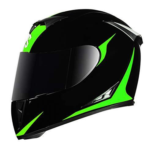 Helm Motorrad DOT-Zertifizierung Unisex-Child Modular Motorrad Motorradhelm Motorrad Moped Offroad Helm für Rennrad Dirt Bike BMX ATV Quad MX Helm mit extra getöntem Visier BMX ATV MX