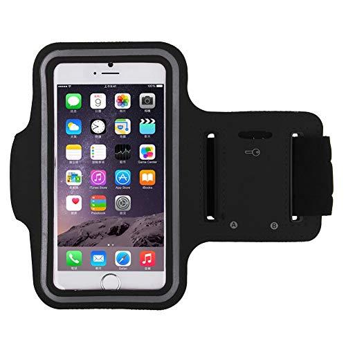 Shot Case - Brassard Sport Iphone 7 pour Courir Respirant Apple Housse Etui Coque T3 (Couleur Noir)