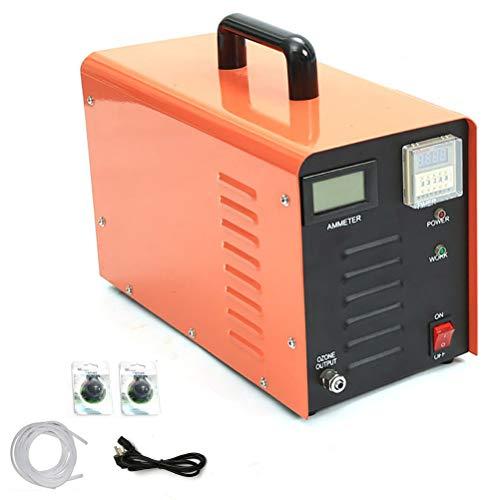 Commerciële ozongenerator 5000 mg/g Hoge capaciteit O3 luchtreiniger Deodorant Sterilisator Lucht ozon Machine voor kamers, ziekenhuis, werkplaats, industrieel,Orange
