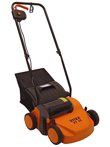 ATIKA VT 32 Vertikutierer Rasenlüfter inklusive Vertikutier und Lüfterwalze 230V | 1300W