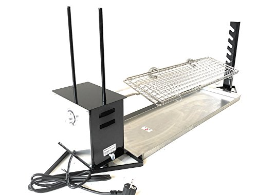 ALLEGRI Asador rotatorio Profesional electrico con regulador de velocidad , incluye pincho...