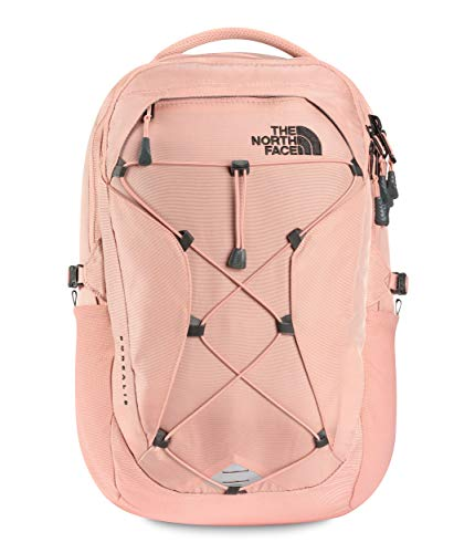 The North Face Women's Borealis Backpack, Pink Clay/TNF Black, One Size