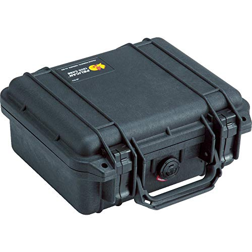Pelican 1200 Case With Foam Black