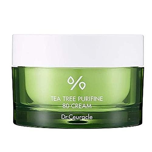 Dr.Ceuracle Tea Tree Purifine 80 Cream - 100% All Natural Face Care...