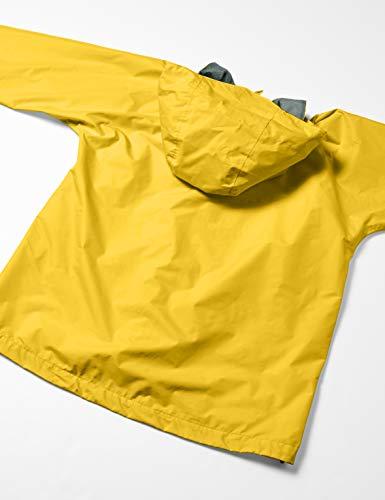 [カナディアンイースト]登山・アウトドア用レインウェア上下セットCEW8011S[レディース]耐水透湿ゴールデンイエロー/ネイビー日本L(日本サイズL相当)