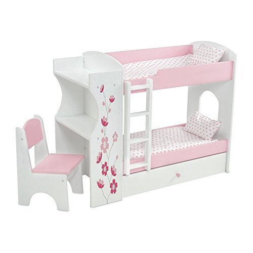 Emily Rose18 Inch Doll Bed Furniture | 18