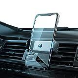 車載ホルダー アルミ合金材質 片手操作 250mAh電池内蔵 2in1 4.7-7.2インチ全機種対応